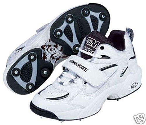 gunn-moore-s5000-full-spike-scarpe-da-cricket-bianco-navy-taglia-eu-13