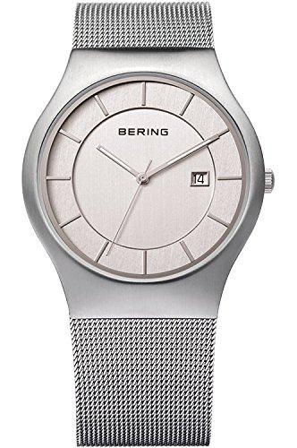 Bering classique pour homme en maille Bracelet de montre 11938–000