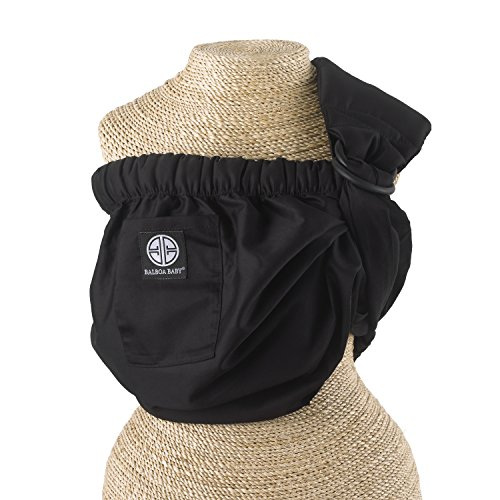 balboa-baby-dr-sears-adjustable-sling-signature-black-by-balboa-baby