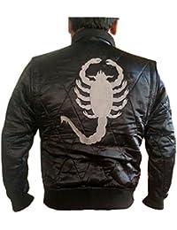 Veste Mode Ryan Gosling célèbre Drive Scorpion pour Homme Noir ac1759687466