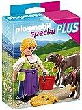 Playmobil 4778 Collectable Farm Wife Plus Calves Play Set