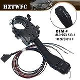 HZTWFC Nuevo control de velocidad de giro del interruptor de la señal del cable del tallo OEM # 8L0 953 513 J 1J1 970 011 F