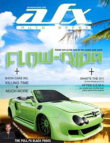 AFX 4: FLOW-RIDA (AFX Magazine) (English Edition)