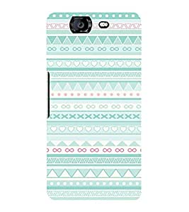 Fuson Designer Back Case Cover for Micromax Canvas Knight A350 :: Micromax A350 Canvas Knight ( Ethnic Pattern Patterns Floral Decorative Abstact Love Lovely Beauty )