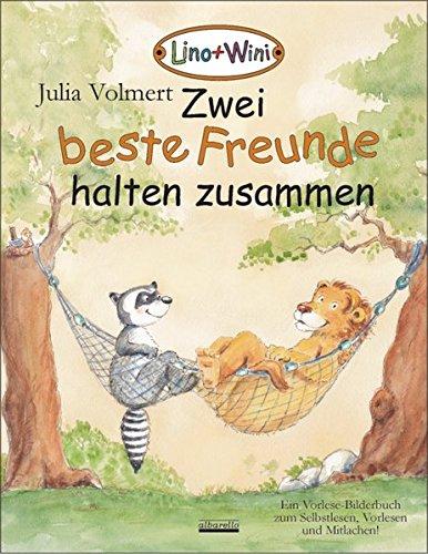 Zwei beste Freunde halten zusammen: Ein Vorlese-Bilderbuch zum Selbstlesen, Vorlesen und Mitlachen über Lino und Wini!