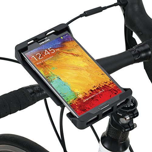 Tigra MountCase Universal 6 Bike Kit for smartphones with screensize up to 6.0 (Mtb + Road Bike)
