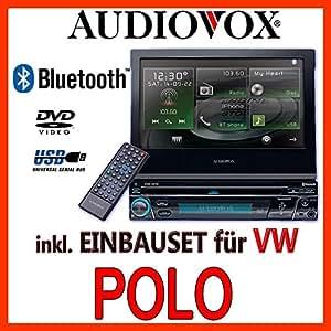 VW polo 6N 6N2-&multimédia audiovox vxe 3010–1DIN kit de montage d'autoradio