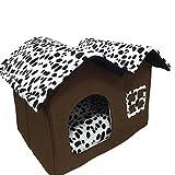 MAGIC UNION Hundehütten Hundehöhle Tierbett Hundebett Hundesofa Korbmit Schlafplätze Kissen