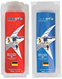 SkinStar Hydrocarbon Racing Skiwax Profi-Wachs Cold Mix Red-Blue 250g