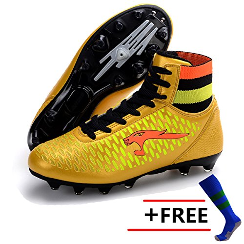 2017 Outdoor Soccer Cleats Superfly AG High Ankle Mens Sports Football Boots Soccer Shoes Male Sneakers