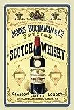 James Buchanan special Scotch whisky alkohol schild aus blech, metal sign, tin