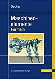 Image de Decker Maschinenelemente - Formeln