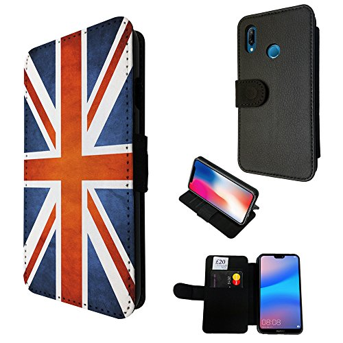 Cellbell LTD 001726 - Great Britain United Kingdom Union Jack Flag Design Huawei P20 lite 5.84