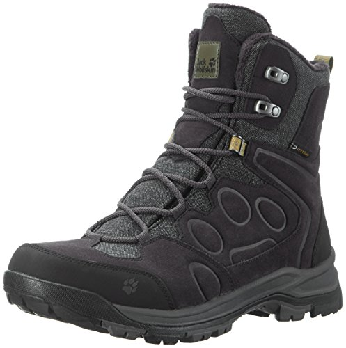 Jack Wolfskin Herren Thunder Bay Texapore HIGH M Trekking-& Wanderstiefel, Grau (Phantom 6350), 46 EU