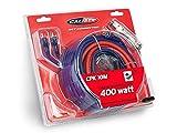 Caliber CPK10M Kabel-Kit für Verstärker bis 400W Rot