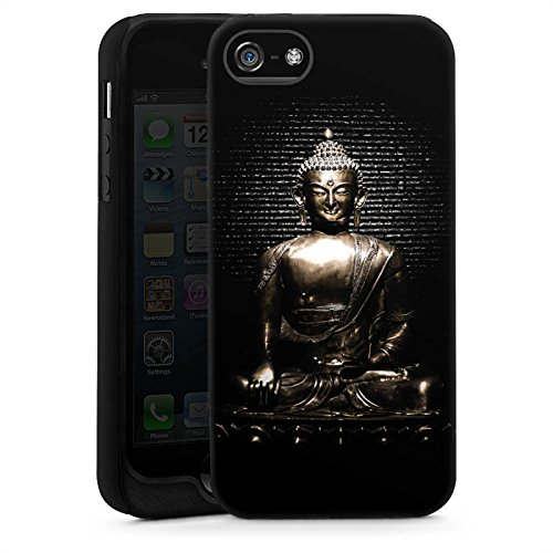 Apple iPhone 6s Hülle Silikon Case Schutz Cover Statue Buddha Buddhismus Tough Case glänzend