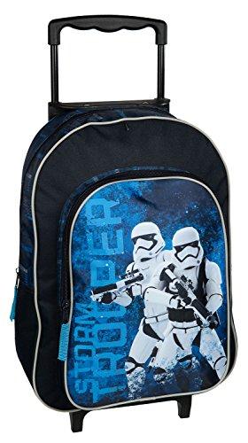 Undercover SWMK8127 Trolley für Kinder, Star Wars, ca. 36 x 25 x 10 cm Blau