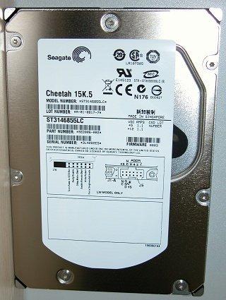 Seagate ST3146855LC Reinigen SCSI Pull Cheetah 15K.5146GB ST3146855LC 80PIN 15K SCSI U32 -