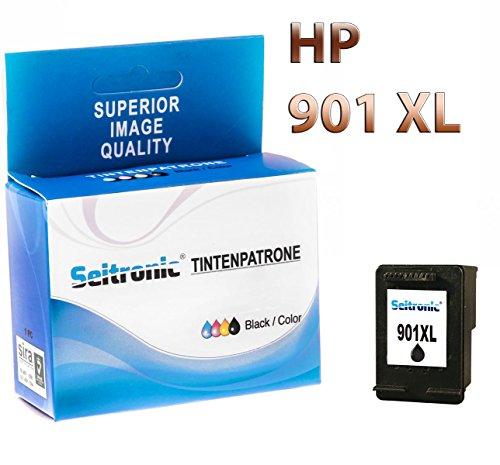 Preisvergleich Produktbild 1x Drucker Patrone Seitronic für HP 901XL Schwarz Officejet 4500 J4500 J4524
