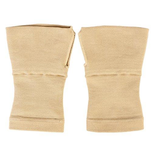 rosenice Medical Handgelenkstütze Hosenträger Handgelenk und Daumen Unterstützung ideal für Arthritis Gelenkschmerzen Sehnenentzündungen Verstauchungen Hand Instabilität Sports (beige)-Gr. M (Arthritis Daumen-unterstützung)