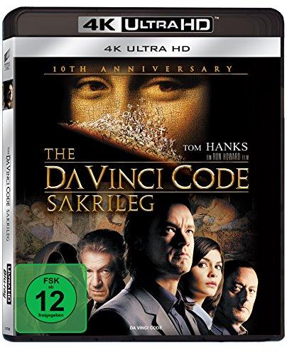 The Da Vinci Code - Sakrileg (Anniversary Edition 4K UHD BD-1) [Blu-ray] Preisvergleich
