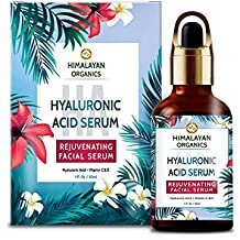 Himalayan Organics Hyaluronic Acid Serum for face Capture Youth with Retinol, Vitamin C & E - 30ml - Under Eye Dark Circles, Anti Wrinkle, Skin Brightening