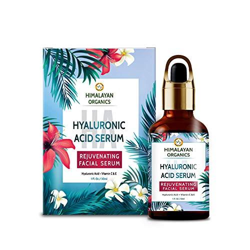 Himalayan Organics Hyaluronic Acid Serum for face Capture Youth with Retinol, Vitamin C & E - 30ml - Under Eye Dark Circles, Anti Wrinkle, Skin Brightening