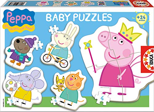 Educa Borrás- Peppa Pig Baby Puzzle (29-15622)