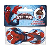 Boyztoys 24 topper per cupcake, in carta, motivo: Spiderman
