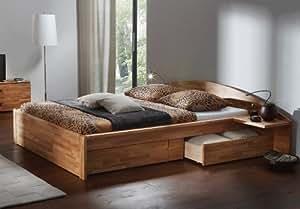 Stilbetten Bett Holzbetten Schubkastenbett Hasena Bergamo