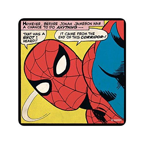 Logoshirt Coaster Marvel Spider-Man That Was 6er Set Untersetzer multicolour - ca 10 cm x 10 cm