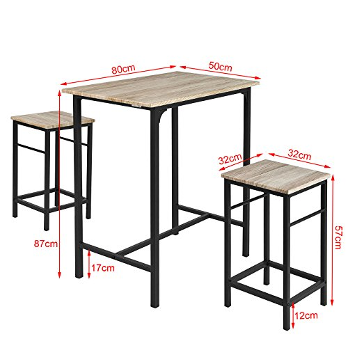 SoBuy-OGT10-N-Set-de-1-Table-2-Tabourets-Ensemble-table-de-bar-bistrot-2-tabourets-avec-repose-pieds-Table-Mange-debout-Table-haute-cuisine