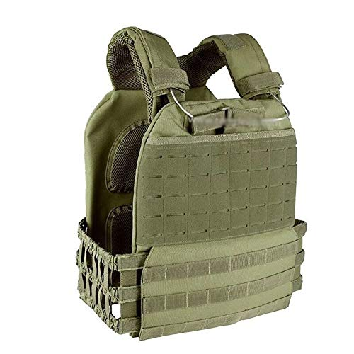 ZRDY Outdoor Sports Combat Assault Vest Weste Taktische Molle Weste Träger Weste (Color : Olive Drab) - Paintball Weste Olive