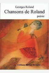 Chansons de Roland Format Kindle