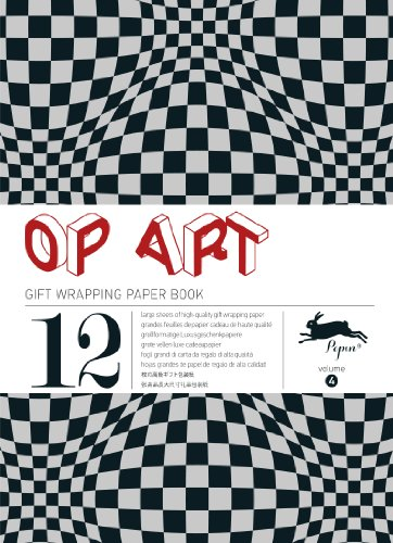 Op Art: Gift & Creative Paper Book Vol. 04 (Gift Wrapping Paper Book) por Pepin Van Roojen