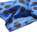 Beaumont BFC-BP Polka Dot Microfibre Cleaning Cloth - Blue