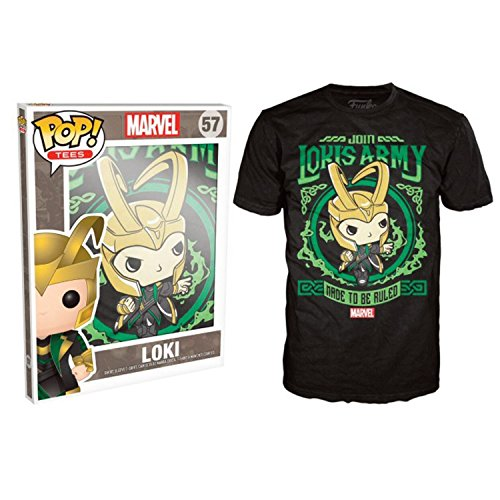 POP Tees Loki's Army Poster Men's T-Shirt Medium