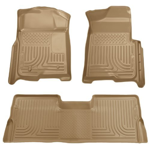 husky-liners-custom-fit-front-and-second-seat-floor-liner-set-for-select-ford-f-150-models-tan-by-hu