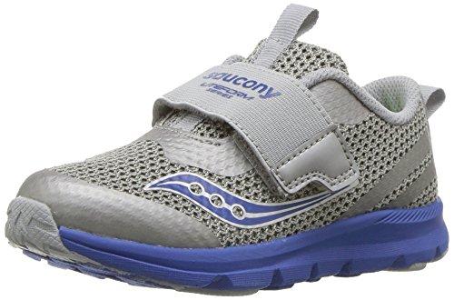 Saucony Boys' Baby Liteform Sneaker, Grey, 5.5 Medium US Toddler -
