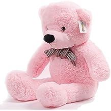 Atezza 100cm, orso, orsetto di peluche Super gigante Specifico teddy bear colore :rosa