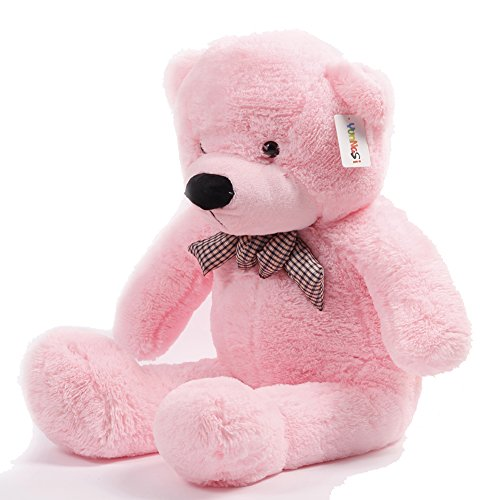 Atezza 100cm, orso, orsetto di peluche Super gigante Specifico teddy bear colore :rosa