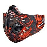 GUKOO Masque de Protection Respiratoire Masque Anti-Pollution Adulte Thermique Coupe-Vent Anti-Poussière Sport Moto Vélo Activités en Plein air