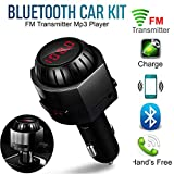 TianranRT MK5 FM Sender MP3 Player Auto Freisprecheinrichtung Bluetooth Stereo Audio Adapter USB
