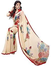 BlueWoman Printed Georgette sarees