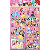 Paper Projects 810539 Disney Princess Sticker (Pack Of 150) Mega Pack
