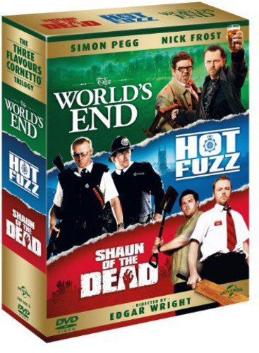 Three Flavours Cornetto Trilogy (World's End/Hot F [DVD] [Import]