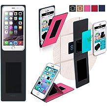 Funda para Blackview Ultra Plus en Rosa - Innovadora Funda 4 en 1-Anti-Gravedad para Montaje en Pared, Soporte de Smartphone en Vehículos, Soporte de Smartphone - Protector Anti-Golpes para Coches y Paredes sin necesidad de herramientas o pegamento - Funda de Reboon para Blackview Ultra Plus Original