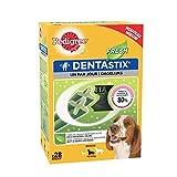 Pedigree Dentastix Fresh - Friandises pour moyen chien, 28 bâtonnets à mâcher pour l'hygiène bucco-dentaire (1 boîte de 720 g / Total 28 Sticks)