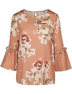 SEIDENSTICKER Damen Bluse Schwarze Rose Bügelleicht Fashion-Bluse
