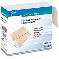Höga Injektionspflaster auf der Rolle, 2 cm x 4 cm, 250 Stück preisvergleich bei billige-tabletten.eu